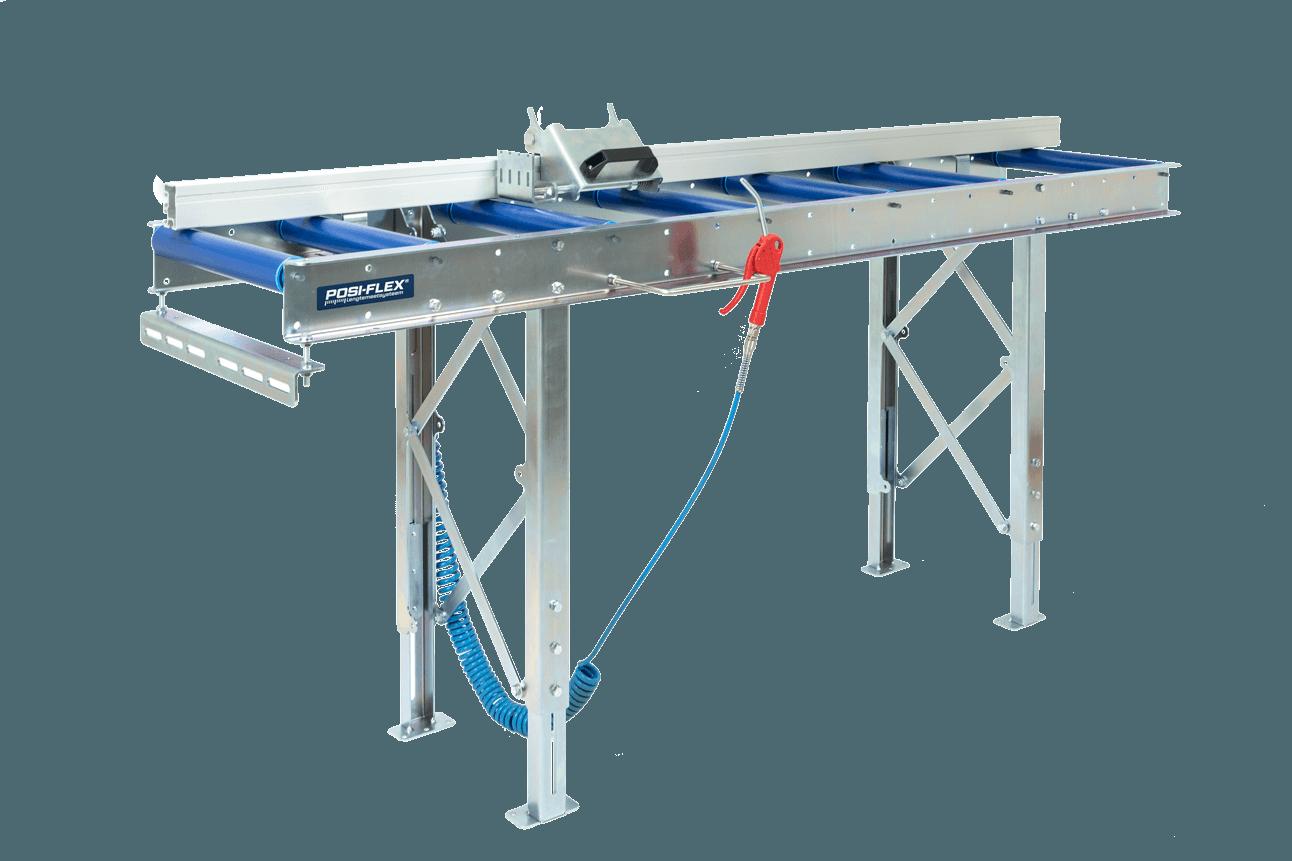 Posiflex | Lengtemeetsysteem, rollenbaan